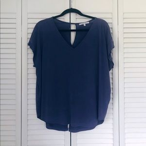 Stormy Blue Women's Blouse